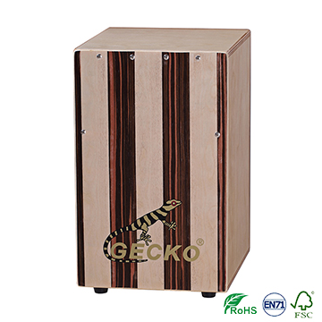 OEM/ODM Manufacturer Colourful Cajon - steel string cajon drum for children in GECKO cajon factory – GECKO