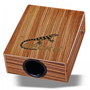 Travel cajon drum,Zebra wood | GECKO