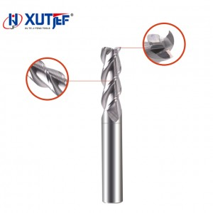 factory low price Disc Milling Cutter - 3 Flutes End Mills For Aluminum – jifeng