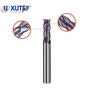 2019 High quality Roughing End Mill - 4Flute 37°/ 38°Variable Helix(SUS) – jifeng