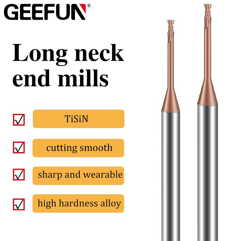 long neck end mills