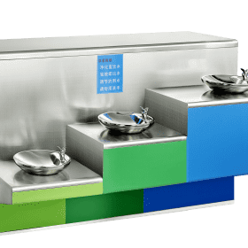 304 stainless steel water dispenser food grade no filter with 3 Sprinkler
