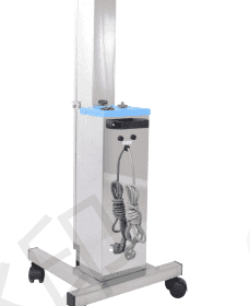 Stainless steel mobile ultraviolet disinfection vehicle