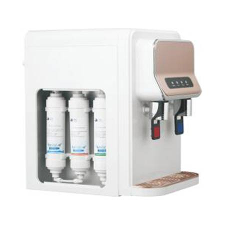 small countertop  RO/UF systerm hot cold water compressor cooling water filter dispenser GHY-YLR-TB-106T Featured Image