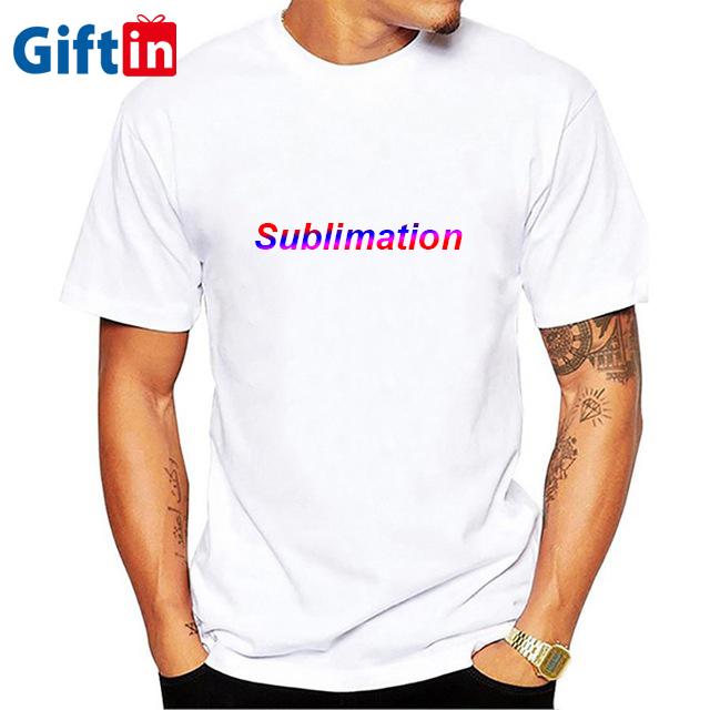 Señores poliéster sublimations t-shirtSols