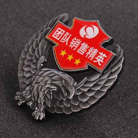 Custom Printed Wholesale Metal Magnetic Button Badge BBG0001 Featured Image