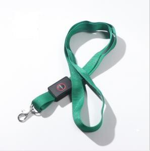 Hot sell customized logo heat transfer sublimation printing LED light lanyard  LYD0007