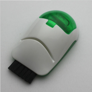 plastic mouse shape Computer brush keyboard cleaner with logo for promotional CB0002