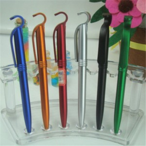 Phone holder plastic ballpoint pen