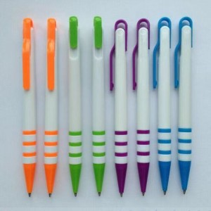 Customized Promotional Plastic Click Ballpoint Pen  BP0510
