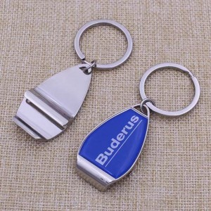 Cheap Bulk Custom Keyring Bottle Opener, Key Chain Bottle Opener, Metal Blank Bottle Opener Keychain  KB0500