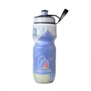 Double cold insulation 500ml Sports Drink Jug Water Bottle Cup Outdoor Tour De France Bicycle water Bottles BT0031