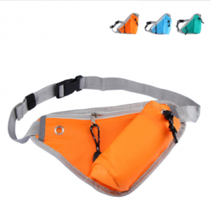Sports Waist Bag Triangle Outdoor Running Water Bottle Pocket SPB0100