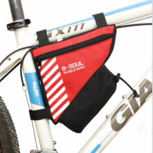 Bike Bicycle Front Tube Frame Triangle Saddle Water Bottle Pocket Travel Bag SBA0200