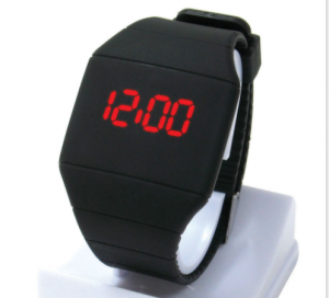 Led Silicone Electronic Watch Creative Personality Men & Women Touch Screen LED Gift Watch WTH0005