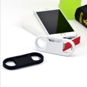 Multifunctional Gifts 3 In 1 iPhone USB Cable Charger Keychain Bottle Opener CHG0002