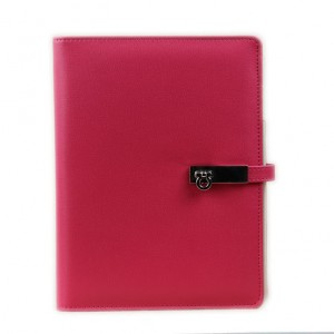 Fashion loose-leaf card self-locking notepad NBK0008