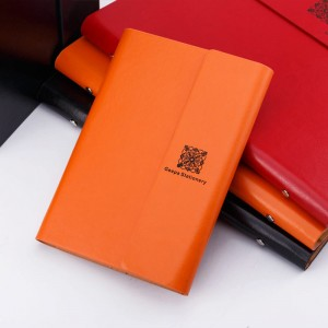 Creative Loose-leaf Office Stationery Notebook Note Retro Business Binder Diary Book NBK0006