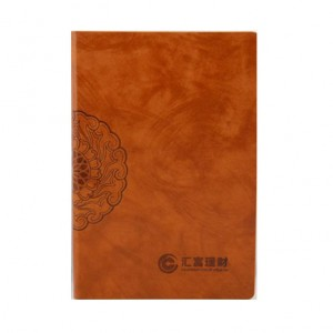 Creative Stationery Notepad A5 Retro Leather Notebook Business Notepad Calendar Custom NBK0025