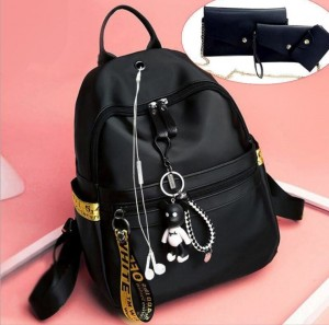 2019 new shoulder bag female Oxford cloth backpack Korean version of the wild fashion backpack leisure college student bag BAG0200