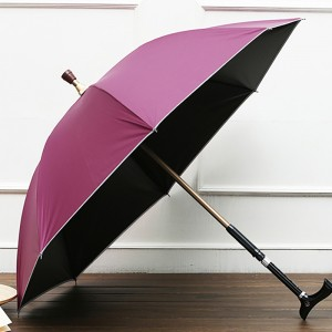 Auto open reflective umbrella for safety night light
