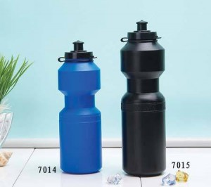 OEM logo printing outdoor sport plastic bicycle PE water bottle BT0029