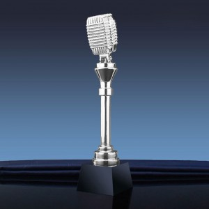Music Star Metal Trophy