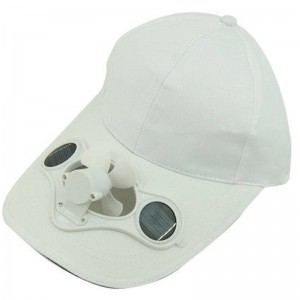 Solar Fan Cap Sun Hat Men's Sun Hat Cap Solar Advertising Hat Customizable LOGO CAP0009