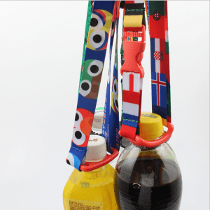 Beverage bottle strap water bottle buckle lanyard portable back water diagonal belt lanyard LY1008