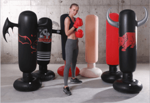 Boxing ring Chinese element inflatable boxing post IT1046