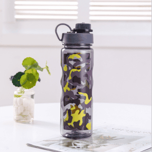 Camouflage jungle series kettle students must have creative and convenient plastic cups vc1007