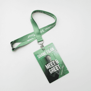 Company label work exhibition lanyard mobile phone rope silk screen hand with thermal transfer SY1014