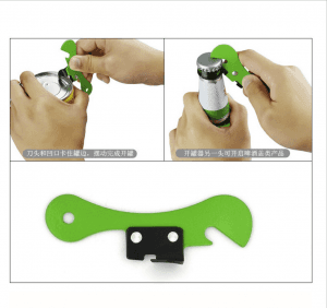 Creative stainless steel can opener multifunctional can opener can opener knife can opener custom logo KT1025