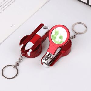 Creative stationery mirror multifunctional pen multifunctional nail clippers ear spoon repair knife P1232