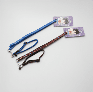 Customized high quality dog leash small dog multicolor traction rope training pet rope LY1028