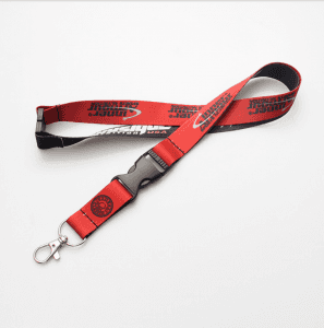 Customized mobile phone lanyard work certificate factory brand thick buckle car remote control lanyard promotion exhibition certificate rope SY1015