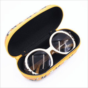 Direct selling new sunglasses case custom compression portable cartoon EVA glasses case wholesale zipper glasses case GC0044
