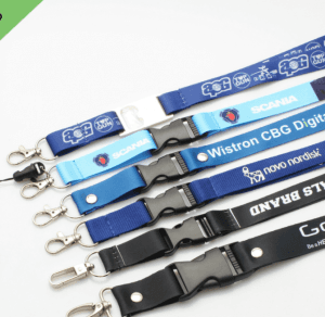 ID lanyard badge lanyard thermal transfer sling exhibition work label card cover ribbon LY1013