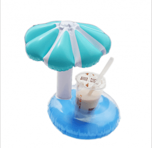 Inflatable cup holder pvc inflatable mushroom cup holder IT1048