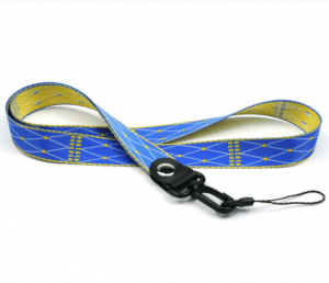 Jacquard geometry mobile phone lanyard high-end mobile phone factory label lanyard lanyard LY1063
