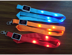 LED luminous lanyard CEO work certificate work card lanyard LD1001
