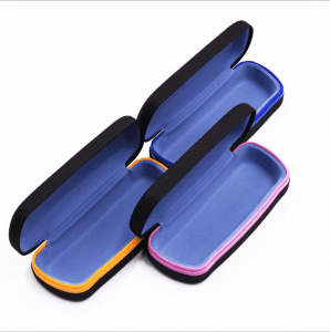 New glasses case iron case custom metal fashion children's myopia glasses case can be customized logo GC0046