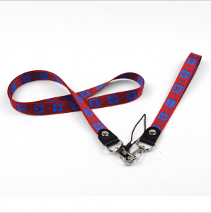 New mobile phone lanyard label sling rope with plastic hook CSC with cast circle line head LY1057