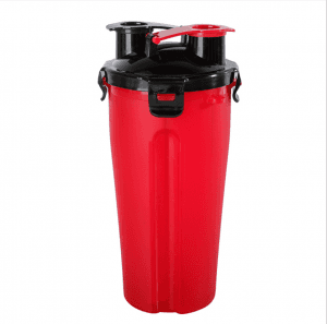 Outdoor Fitness Sports Cup Simple Large Capacity Double Drink Cup Portable Car Cup Eco Fashion Plastic Cup SKB1015