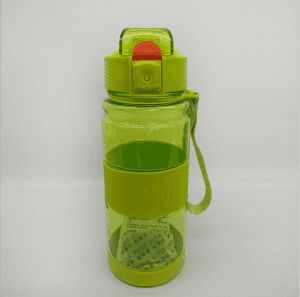 Pop-up space cup anti-scalding sports bottle custom portable handle advertising plastic cup VC1016