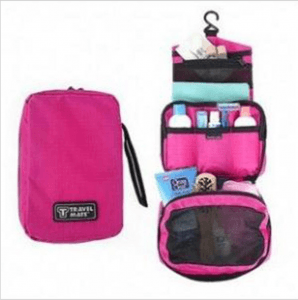 Portable cosmetic storage bag ST1175