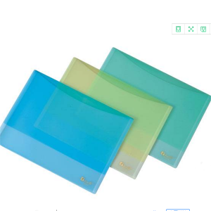 PVC plastic document pouches holde LF0035