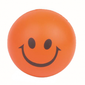PU Foam Squeeze Ball face smile stress ball STR0006
