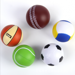 BSCI Audit Factory 2018 Various Sizes and Designs Football Ball Football Soccer Custom Pu Foam Anti Stress Ball  STR0008