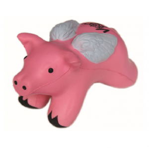 Flying Pig with Wings Stress Balls  STR0041